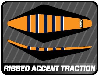 ribbed accent traction
