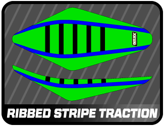 ribbed stripe traction